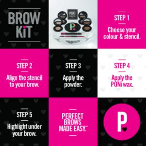 Poni Brow Kits