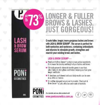 Poni Lash and Brow Serum